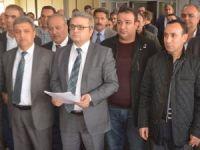 Hakkari'deki 22 STK'dan basın açıklaması