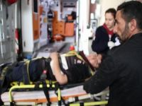 Okul servis aracı takla attı 9 yaralı