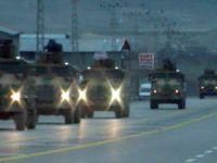 Van'dan Yüksekova'ya askeri sevkiyat