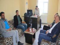 İHD yönetimi Hakkarihabertv'yi ziyaret etti