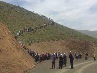 Hakkari'de gençlik doğa yürüyüşü düzenlendi