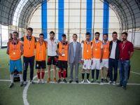 Üniversite'nin futbol turnuvası sona erdi