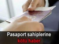 Eski pasaportlarda son tarih 2011