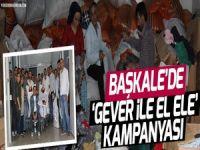 Başkale'de 'Gever İle El Ele' Kampanyası