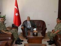 Tuğgeneral Tayanç'tan Vali Toprak'a ziyaret