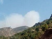 Çukurca üst bölgesinde dumanlar yükseldi