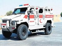 Hakkari'ye zırhlı ambulans gönderildi