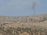 Gerdan tepede askerlere havanlı saldırı