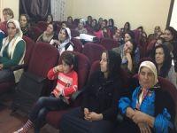 """Çukurca'da """"Kadın sağlığı"""" semineri düzenlendi"""