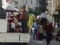 Diyarbakır Bağlar'da göç başladı