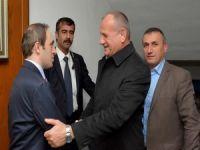 Düzce Belediye Başkanı Mehmet Keleş Hakkari'de