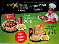 Maximus Pizza İtaliano'dan kampanya!