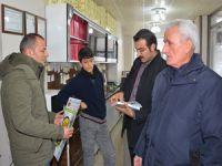Belediye ekipleri biyodizel projesini tanıttı
