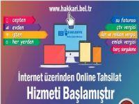 Belediyesi online tahsilat hizmetine başladı!