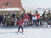 Yüksekovalı çocuklara kayak eğitimi!