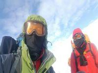 Süphan Dağı dağcılara geçit vermedi!