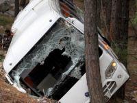 Trafik kazası: 2 ölü 9 yaralı!