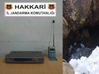 Kırsalda frekans sağlayıcı uydu cihazı ele geçirildi