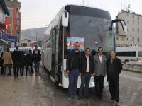 Hakkari'de otobüs heyecanı!