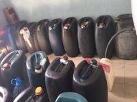 2 bin 600 litre kaçak yakıt ele geçirildi!