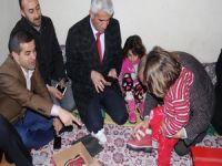 ASP sınırdaki şehit ailelerini ziyaret etti!