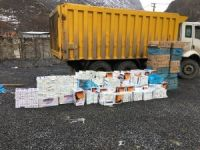 Hakkari'de 17 bin 960 paket sigara ele geçirildi