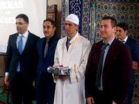 Şemdinli'de hutbe okuma yarışması düzenlendi