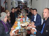 HDP, DBP'den basına dayanışma yemeği!