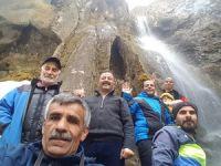 Ağaçdibi Şelalesinin ilk ziyaretçileri dağcılar oldu!