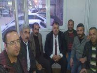 CHP il başkanı Karahanlı esnafları ziyaret etti!