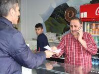 HDP ve DBP miting için davetiye dağıttı!