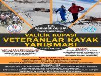 Valilik Kupası Veteranlar Kayak yarışmasına davet!