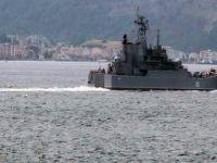 Rus savaş gemisi battı!