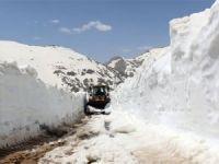 Mayıs ayında karla mücadele!