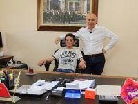 Engellilerden Emniyet Müdürlüğüne anlamlı ziyaret!