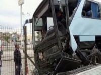 AK Partileri taşıyan otobüs kaza yaptı: 32 yaralı!