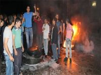 İzinsiz eylem yapan mahalleliye TOMA'lı müdahale