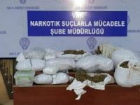 35 kilo uyuşturucu ele geçirildi