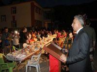 Şemdinli Üzümkıran'da görkemli iftar yemeği!