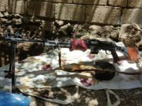 Bağlar mahallesinde bixsi silahı ele geçirildi!