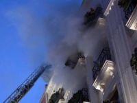 Otel yangınında ölü sayısı 3'e yükseldi