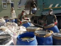 4 ton 710 kilogram esrar maddesi ele geçirildi