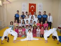 Hakkari polisi Judo takımını ziyaret etti!