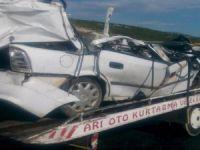 Kazada bir aile yok oldu: 3 ölü, 3 yaralı!