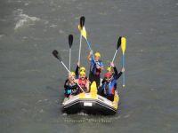 Hakkarili Dağcılar Zap'ta rafting yaptı!