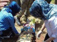 Pancar toplamaya gidenler mayına bastı 4 yaralı!
