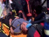 İş yerinde yangın: 1 ölü, 10 yaralı!