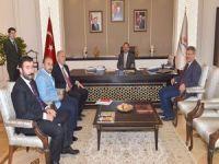 Başkan Keskin ve Çallı, Ankara'da temaslarda bulundu!