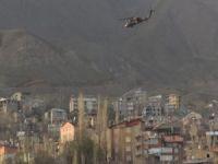 Çukurca'da işçilere roketli saldırı 1 yaralı!