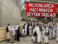 Hacılar Mina'da şeytan taşladı